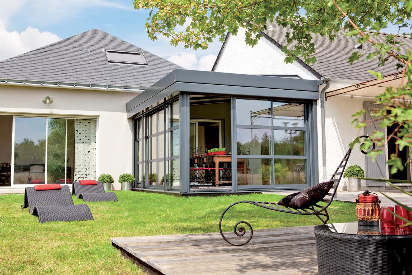 veranda rideau de verre