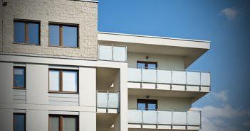 Condos neufs ou maisons neuves bloc vue sur les unites de coins