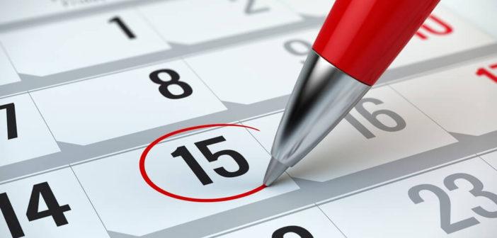 Quelles sont les échéances du calendrier fiscal des particuliers de 2018 ?