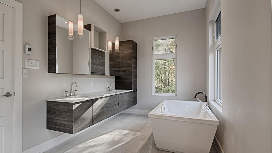 salle de bains moderne photos 5 amenager une bain - lzzy.co - Photo De Salle De Bain Moderne